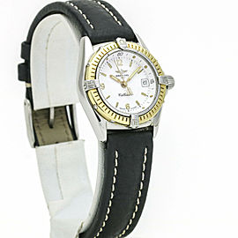 Breitling Callistino Women's 18k Gold Stainless Steel Quartz Sports Watch D52045