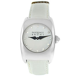 Ladies' Pasquale Bruni PBU 001 AC BN Steel MOP Diamond Quartz 29MM Watch