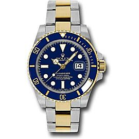 Rolex Two Tone Ceramic Submariner 116613LB Watch