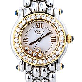 Chopard Happy Sport 27/8246-23/11 18kt Floating Factory Diamond Lady Watch 26mm