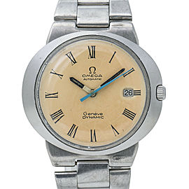 Omega Dynamic Automatic Vintage Spider Patina Roman Dial 565 movement SS 41mm