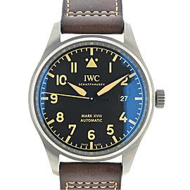 IWC Pilot Mark XVIII Heritage Titanium Automatic Men's Watch IW327006