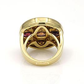 Cartier Pasha Multi-Gemstone Ring in 18k Yellow Gold