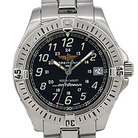 BREITLING Colt Ocean A64350 Black Dial Date Quartz Men's Watch
