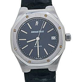 Audemars Piguet Royal Oak 14800ST Blue Dial Automatic Mens Watch 36MM