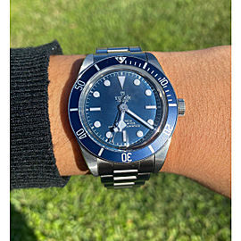 Tudor Heritage 79030B Black Bay Blue Dial Men's Watch