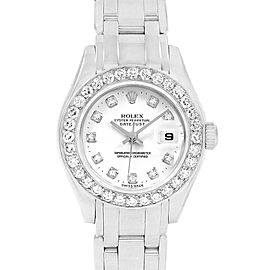Rolex Pearlmaster Masterpiece 80299 29mm Womens Watch