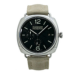 Panerai Radiomir PAM00323 10 Days Automatic Black Dial Watch 47mm With Box