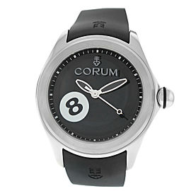 Corum Bubble Game 8 Ball 082.310.20/0371 BA08 Limited Edition Steel 47MM Watch
