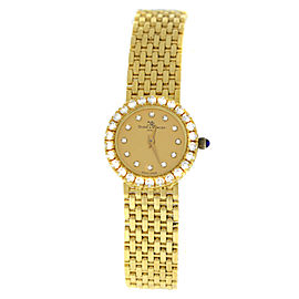 Baume & Mercier 18K Gold Diamonds 22MM Quartz Bracelet Watch