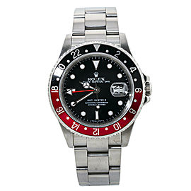 Rolex GMT Master II 16710T Coke Z Serial Rectangular Dial Automatic Watch 40mm