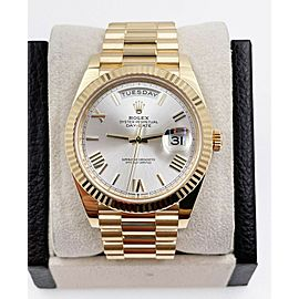 Rolex President Day Date 40mm 228238 18K Yellow Gold Box Paper 2019 Mint