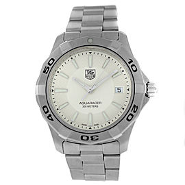 Tag Heuer Aquaracer WAP1111 Mens Stainless Steel 39MM Quartz Watch