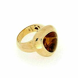 Roberto Coin 'Capri' Citrine 18k Yellow Gold Ring