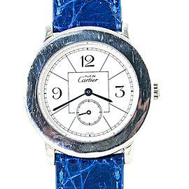 Cartier Must De Cartier Ronde 1815 1 Unisex Quartz 925 Silver Watch 32mm