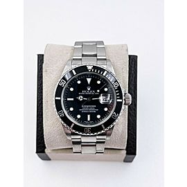 Rolex Submariner 16610 Black Dial Stainless Steel 2002