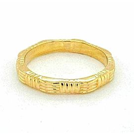 Roberto Coin 18k Yellow Gold Octagonal 2.5mm Wide Band Ring