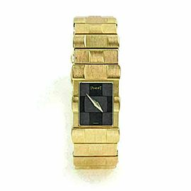 Piaget Polo 18k Yellow Gold Ladies Quartz Wrist Watch 15281