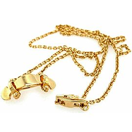 Louis Vuitton Stand By Me 18k Yellow Gold Pendant