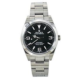 Rolex Explorer 214270 Mark 2 369 Lume Dial Automatic Mens Watch 2019 Card 39MM