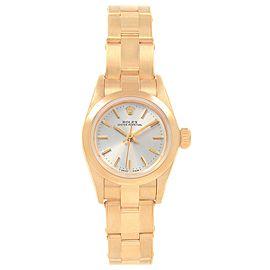 Rolex President No-Date 67180 24mm Womens Watch