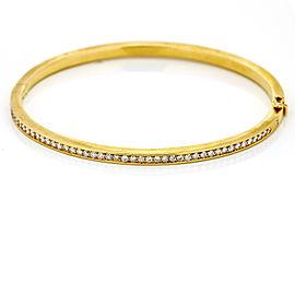 H. Stern Diamond Bangle Bracelet In 18k Yellow Gold ( 1.00 Ct Tw )