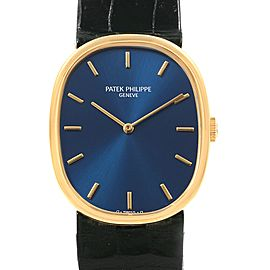 Patek Philippe Golden Ellipse 3848 27mm Mens Watch