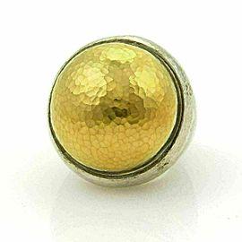 Gurhan Dome 24k Gold over Sterling Silver Hammered Ring