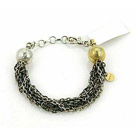 Gurhan Delight 24k Gold & Sterling Silver Beads 7 Chain Bracelet Rt. $2,475