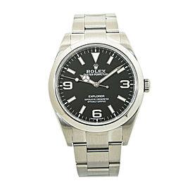 Rolex Explorer 214270 2019 Mark II 369 Lume Dial Stainless Mens Watch 39MM