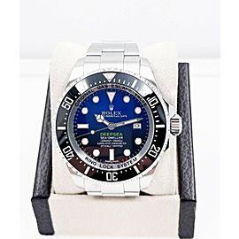 Rolex 116660 Deepsea Seadweller Black Blue James Cameron Stainless