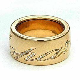 Chopard Signature Diamond Chopardissimo 18k Pink Gold Ring