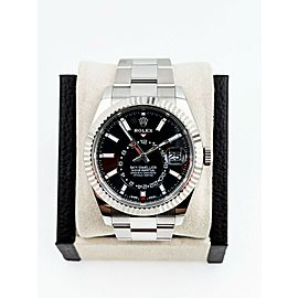 BRAND NEW Rolex Skydweller 326934 Black Dial Stainless Steel