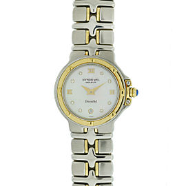 Raymond Weil Parsifal Two Tone Mother of Pearl Diamond Dial Ladies Watch