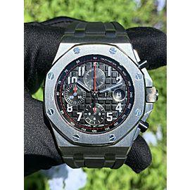 Audemars Piguet 26470ST Vampire Royal Oak Offshore Stainless Steel Watch