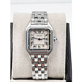Cartier Ref 1310 Panthere Stainless Steel Ladies Midsize Watch