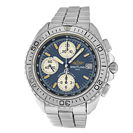 Breitling Shark A13051 Men's Chronograph Steel Date Automatic 41MM Watch