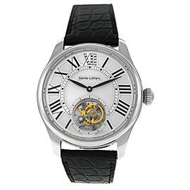 Sainte-Lefranc Tourbillon PRO 01 Diamond Stainless Steel Automatic 42MM Watch