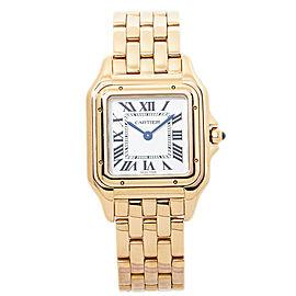 Cartier Panthere WGPN0007 4019 18K Rose Gold Ladies Quartz Midsize Watch 27mm