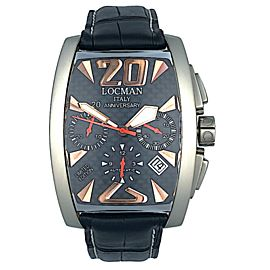 Locman Panorama Swiss Movement 2894-2 Chronograph Limited Edition REF 155 Watch