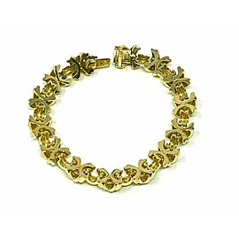 Tiffany & Co. 18k Yellow Gold Signature X Link Bracelet