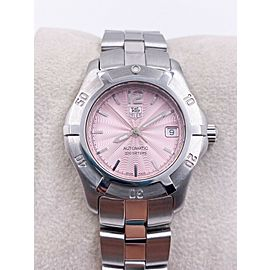 Tag Heuer 2000 Exclusive WN2310 Automatic Ladies Stainless Steel Pink Dial