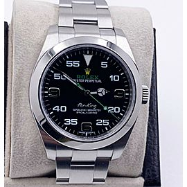 Rolex Air King 116900 Black Dial Stainless Steel