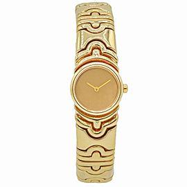 Bulgari Parentesi 18k Yellow Gold Women's Quartz Watch