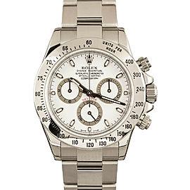 Rolex Daytona 116520 Cosmograph White New Full Sticker Watch 40MM