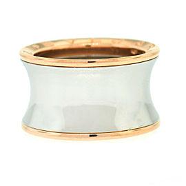 Bvlgari B Zero 1 Anish Kapoor 18K Rose Gold & Stainless Steel Ladies Ring