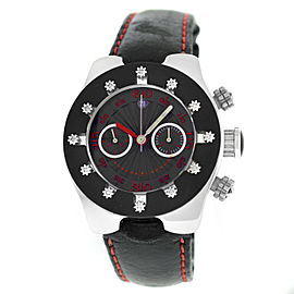 Carrera Y Carrera Avalon Chronograph Collection Men Steel Automatic 40MM Watch