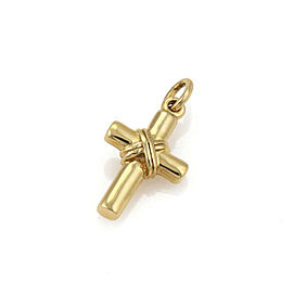 Tiffany & Co. 18k Yellow Gold X Wrapped Cross Pendant