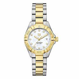 Tag Heuer Aquaracer WBD1422.BB0321 Ladies Diamond MOP Steel Quartz 27MM Watch