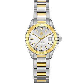 Tag Heuer Aquaracer WAY1455.BD0922 Ladies Gold Stainless Steel Quartz 27MM Watch